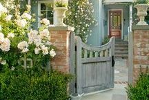 "Cottage & Farm Exteriors / ""I had a dream that life was beauty...then, I awoke to find that it truly was.""  Now that I have a country home of my own, I want to find just the right way to add that certain country cottage style...See my cottage style at TheCottageWreath.com"
