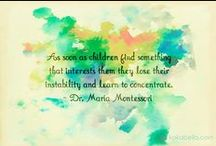 Inspiring (not only) Montessori quotes