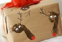 Christmas Crafts / Handmade Christmas crafts perfect for little children.