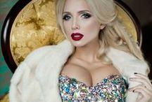 Vika Podverbnaya - Вика Подвербная / Vika Podverbnaya, Model, Long, Legs, Long Hair, Blond