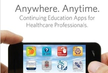 Continuing Education Apps for Healthcare Practitioners - CME, CE, CPE / Discover an download continuing education mobile web apps by leading providers of CE, CME, CPE, CDE, CNE. Mobile web apps offer busy healthcare professionals a convenient and straightforward tool to quickly research available and upcoming continuing education activities by accredited CE and CME providers (live seminars, online activities, webinars, etc.). / by RXinsider
