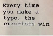 Typos, typos, everywhere