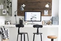 lovely space/ home office/ interior design