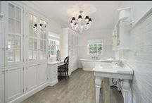 """Vintage Wood HD Porcelain Tile / Vintage Wood by Anatolia Tile, available in five colors, in 6""""x24"""" and 6""""x36""""."""
