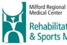 Rehab / A complete range of sports medicine, physical and occupational therapies are available at three convenient locations. Speech therapy is available at our Milford and Whitinsville locations.