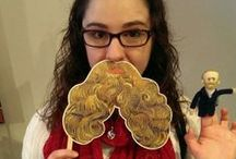 #Instavangogh / In honor of Van Gogh Repetitions, Instagram or Tweet a photo of yourself wearing a beard cutout from the artist's painting with #instavangogh for a chance to win monthly prizes. Get your beard at the museum. / by The Phillips Collection