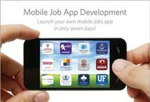 """Mobile Job Board Apps & Career Search App Development / Mobile job apps offer both passive and active job-seekers are a convenient and simple tool to monitor job opportunities available with desirable employers. To maintain a recruiting edge with the """"mobile generation"""", your company will require a mobile app for job seekers to quickly and conveniently monitor your career opportunities. Mobile recruiting is here... MOBILIZE! / by RXinsider"""