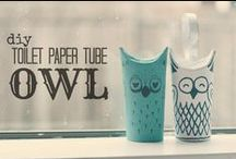 Toilet paper roll craft / Nice things to do with an empty toilet paper roll
