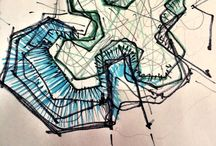 Sketch / Landscape Design / ESKİZLER