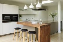 Modern & Contemporary Kitchens / Modern and contemporary kitchen design ideas.