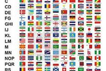 Flags - National / by Bruce R. Gilson