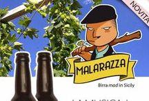 """Malarazza / Malarazza è voglia di sperimentare e di dare sfogo alla fantasia e all'amore. È innovazione con un pizzico di follia. È la reinterpretazione della tradizione brassicola in chiave siciliana. In tre sole parole, Malarazza è """"mad in Sicily"""". :) http://www.excantia.com/malarazza"""