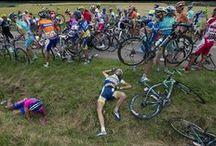 chute de cyclisme