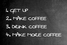 ...coffees bitch... / How to save a MONDAY...and a life...and to share with good friends or a brilliant book...