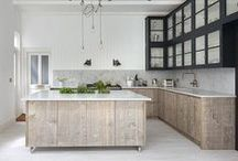 living, kitchen