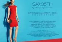 SAX35TH SS14 / Announcing the brand new Sax35th by Alicja Czarniecka SS14 collection, a colorful explosion of innovative designs. The leading themes of the latest clothing line are saturated hues, airy fabrics, and chic elegance. Bold yet romantic, it's a fashion-forward statement for the incoming season.