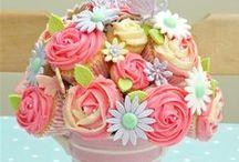 Bouquet cake