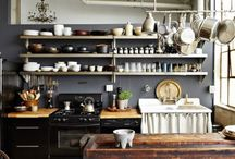 Kitchen & storage & cooking... / Making yum stuff...