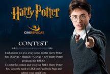 HARRY POTTER GIVEAWAY / CONCOURS HARRY POTTER / Harry Potter Contest / Giveaway .....Jeux concours Harry Potter pour gagner des cadeaux Harry Potter officiels