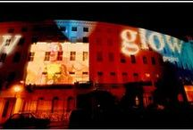 The Glow Project - Adelaide Crescent / The Glow Project -Nov 2003- was a spectacular after-dark multimedia event with a HUGE difference.  Images, contributed by local people and artists, were projected on to Adelaide Crescent, a mid 19th century residential development in Hove. The Glow Project tapped into the emotional lives of people who lived behind the walls on which the projections were shinning, illuminating their stories outside in the city.
