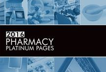 """2016 Pharmacy Platinum Pages / Known as the """"Yellow Pages of Pharmacy,"""" the Pharmacy Platinum Pages is published annually and serves the profession as a comprehensive and relevant buyer's guide.  / by RXinsider"""