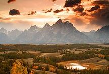 ~Wyoming National Parks~ / Explore the incredible National Parks of Wyoming -- Grand Teton and Yellowstone!!