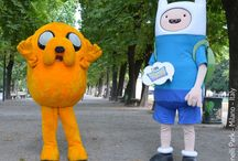 FINN and JAKE / SKY e il parco dei cartoon: FINN and JAKE - Indro Montanelli Park, Milan, Italy - ph. Vaifro Minoretti - Gabriella Ruggieri 1blog4u