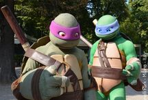 NINJA TURTLES / SKY e il parco dei cartoon : Ninja Turtles - Teenage Mutant Ninja Turtles, TMNT, Nickelodeon -  Kevin Eastman, Peter Laird, Mirage Studios - #CheSpettacolo Giardini Indro Montanelli, Milano, Italy - Gabriella Ruggieri for  1blog4u - ph. credit Vaifro Minoretti for 1blog4u