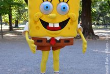 SPONGEBOB / SKY e il parco dei cartoon : SpongeBob SquarePants - Stephen Hillenburg Nickelodeon - #CheSpettacolo Giardini Indro Montanelli, Milano, Italy - Gabriella Ruggieri for  1blog4u - Sergio Bellotti - ph. credit Vaifro Minoretti for 1blog4u