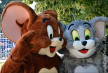 TOM & JERRY / SKY e il parco dei cartoon : Tom & Jerry - Tom the Cat and Jerry the Mouse,  William Hanna and Joseph Barbera -  Hanna & Barbera - Boomerangtoons Sky #CheSpettacolo - Giardini Indro Montanelli, Milano, Italy - cartoons - Gabriella Ruggieri for  1blog4u - Sergio Bellotti - ph. credit Vaifro Minoretti for 1blog4u