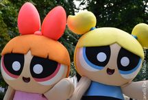 THE POWERPUFF GIRLS / SKY e il parco dei cartoon : The Powerpuff Girls - PPG, Craig McCracken, Hanna-Barbera - Cartoon Network - #CheSpettacolo - Giardini Indro Montanelli, Milano, Italy - Gabriella Ruggieri for 1blog4u - Sergio Bellotti - ph. credit Vaifro Minoretti for 1blog4u