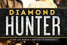 Diamond Hunter - PUBLISHED / Inspiration for my mystery/thriller/romantic suspense about diamond smuggling set in the Canadian arctic. Ebook and paperback available on Amazon. Free in Kindle Unlimited.