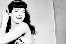 ❥ Pin Up beauty Bettie Page
