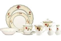 Floral Pattern Tableware
