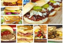 Burgers, Sandwiches, Sliders,Wraps & Dogs / Burgers, Sandwiches, Sliders, Wraps & Dogs / by Kelly Loechel