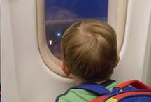 Start them Young ✈ / Traveling with kids can be complicated!  Here are some ideas to keep your trip hassle free and fun for our little ones!