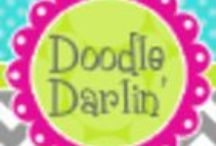 Oodles of Doodles / All these clipart sets can be found in my Etsy shop or on Tpt.