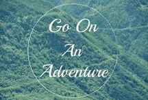 Words of Inspiration / A collection of some of our favorite travel quotes and words to live by