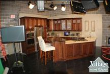 WQAD ch. 8 Kitchen / Village Home Stores is so excited to partner with WQAD in the #QuadCities to install a beautiful working #kitchen set. We are also excited to share news and trends about the Kitchen & Bath industry right from their studios! Stay tuned! We have a lot of fun things in store for you!