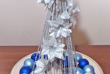 """Christmas and Holiday Decorating / Easy and affordable """"How To"""" and DIY decorating ideas."""