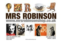 Our shop shots / A few store shots that we will constantly update. Mrs Robinson shop East Dulwich.