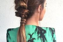 Braids, braids, braids / Sharing our favorite braid inspiration from around the web.