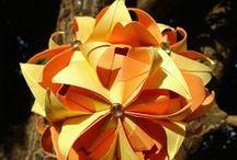 Meus trabalhos em Origami