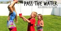 Cool Water Games | Summer ideas for some outdoor funater Games / Here are some and inexpensive games for kids and for adults to keep cool in the summer heat.