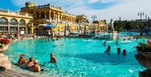 Thermal Baths in Hungary / Hungary is known for its thermal baths. We visited many of these locations not only because of a project, but because we wanted to relax with our family and friends. If you are in Hungary and you want to rest after a busy day of sightseeing, we recommend these fantastic baths.