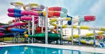 Photos of Amazing Water Parks / This is our collection of the best water parks from around the world. Besides of sharing some cool vacation spots with you, the goal of this table is to collect ideas for our work. We have a good taste for water slides, so we hope you'll like it.