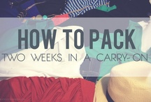 Travel - Packing & Tips / by Patrycja