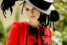~~ RED & BLACK ~~ / by ~~ Lauren ~~