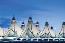 Inside Denver International Airport / Denver International Airport is the only major airport to be built in the United States in the last 25 years. The current facility can accommodate 50 million passengers a year without any additional construction. / by Denver International Airport