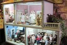 Dollhouses / Some day I will have one of m very own.  In the meantime I can dream